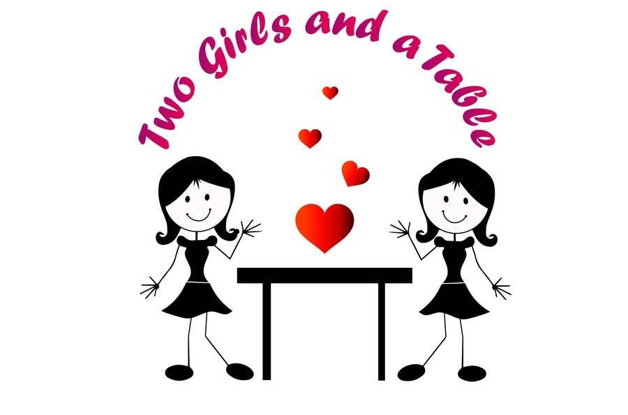 Penyertaan Peraduan #17 untuk Design a Logo for Two Girls and a Table