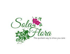 #89 cho Design a Logo for flower shop called sola flora bởi designdepartment