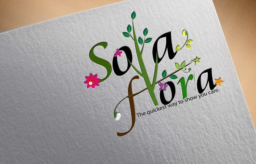 Konkurrenceindlæg #                                        96                                      for                                         Design a Logo for flower shop called sola flora