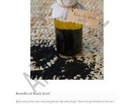 #34 pentru Blog post for benefits of Black Seed (Nigella Stavia) and Black Seed oil de către ahsanriaz25791