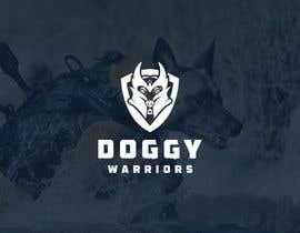 #613 for DoggyWarriors Logo Contest by CreativityforU