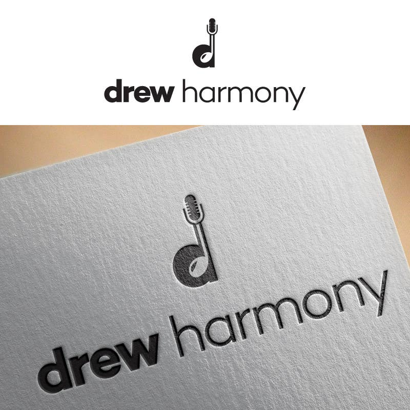 "Konkurrenceindlæg #                                        4                                      for                                         Design a Logo for My Name ""Drew Harmony"""