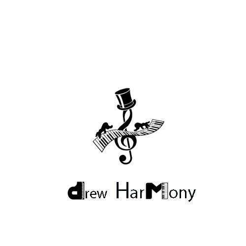 "Konkurrenceindlæg #                                        9                                      for                                         Design a Logo for My Name ""Drew Harmony"""
