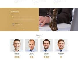 #20 untuk Web Design for an Attorney oleh freelancerasraf4