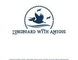 """#214 pentru Logo for """"Longboard With Amigos"""" (surf company) de către imranislamanik"""
