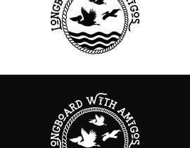 "#213 cho Logo for ""Longboard With Amigos"" (surf company) bởi imranislamanik"