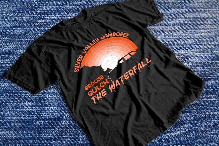 Konkurrenceindlæg #                                        8                                      for                                         Design for an event tee shirt