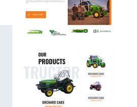 #59 for Tractor Website 1 page (+ contract-work) af syedjaved90