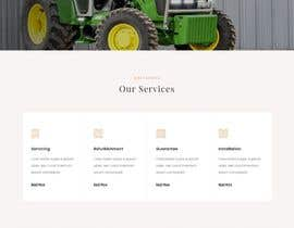 #69 for Tractor Website 1 page (+ contract-work) af rprifat