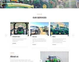 #65 for Tractor Website 1 page (+ contract-work) af Abderrahmanea