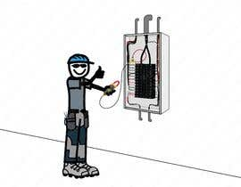 #50 for Electrician Solar Guy Graphic (Multiple Winners!) by CLOUDOFXYZ