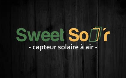 #113 for Design a Logo for Sweet Sol'r af nuwangrafix