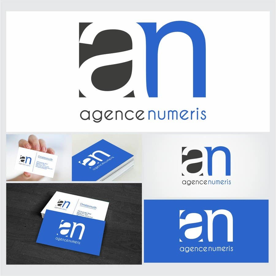 Contest Entry #                                        43                                      for                                         Create logo for Agence Numeris