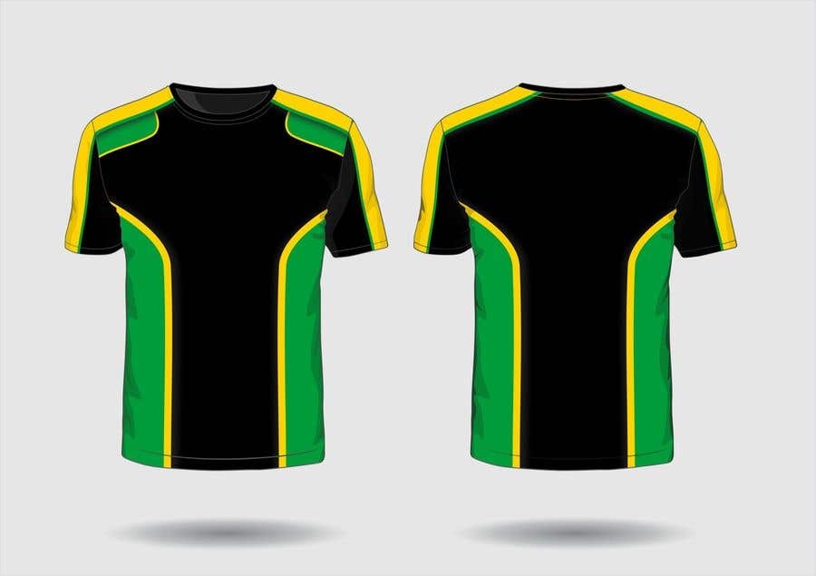 Contest Entry #                                        4                                      for                                         active wear line with a theme of black, yellow and green.