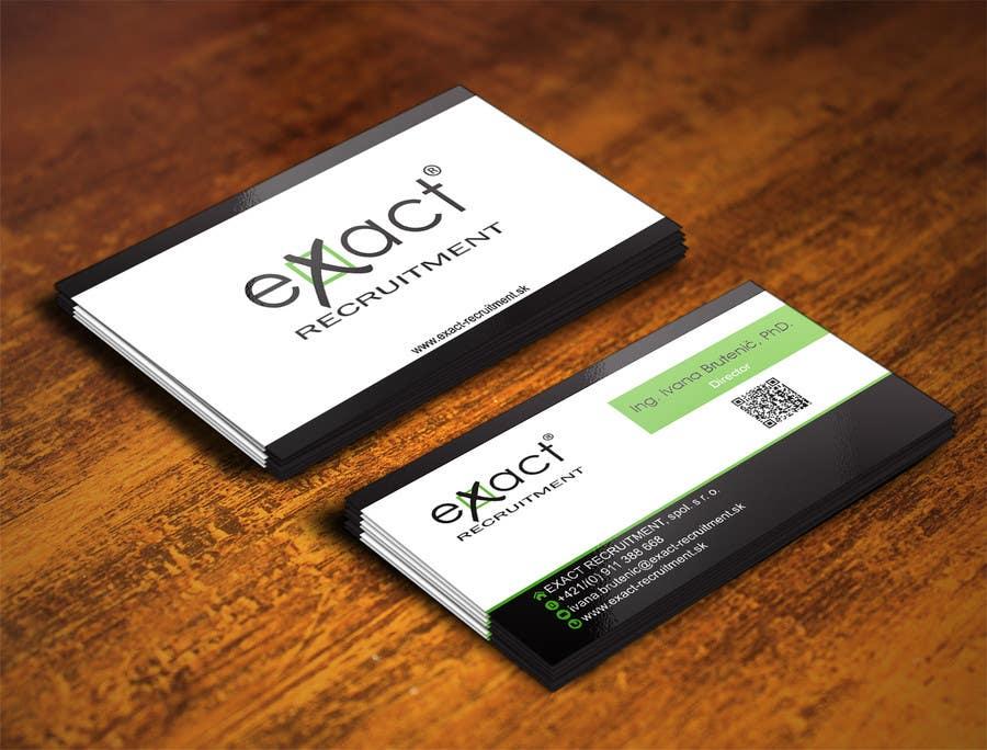 Konkurrenceindlæg #                                        37                                      for                                         Design Business Cards for Recruitment company