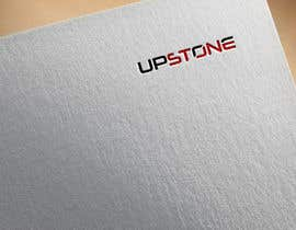 Nro 19 kilpailuun I want to create a logo for my company which us called Upstone as well as a powerpoint slide template using the colours and logo as described käyttäjältä ayubkhanstudio