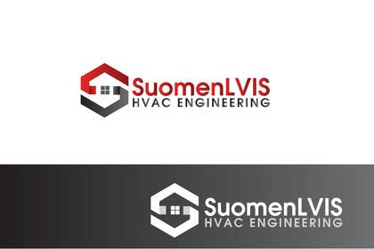 "#212 for Design a Logo for ""SuomenLVIS"" HVAC-engineering company by Graphicsuite"