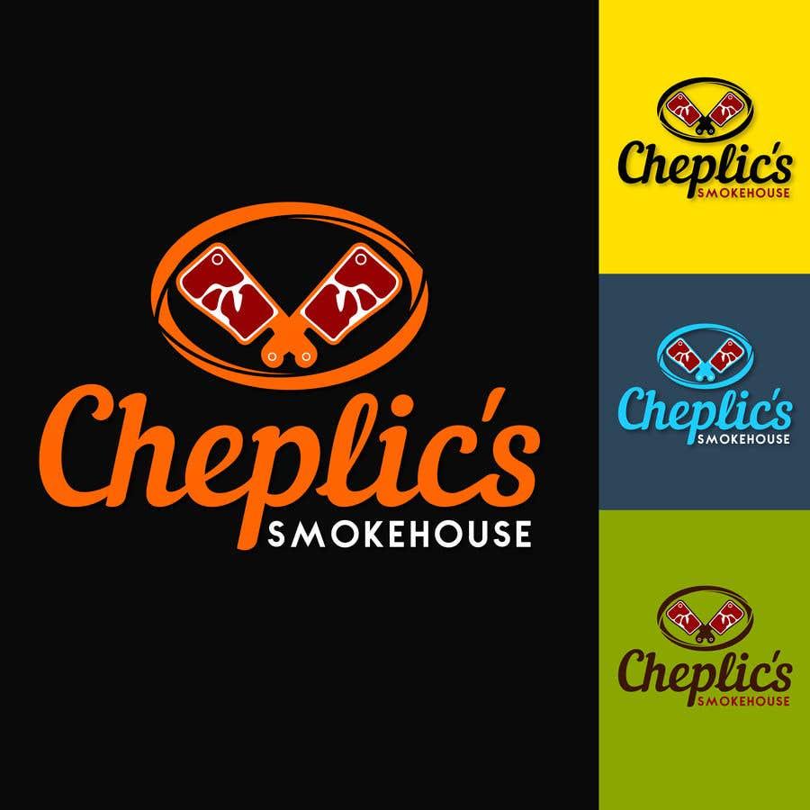 Kilpailutyö #                                        34                                      kilpailussa                                         Create a logo for corporate customer smoked meats, jerky, and beef sticks