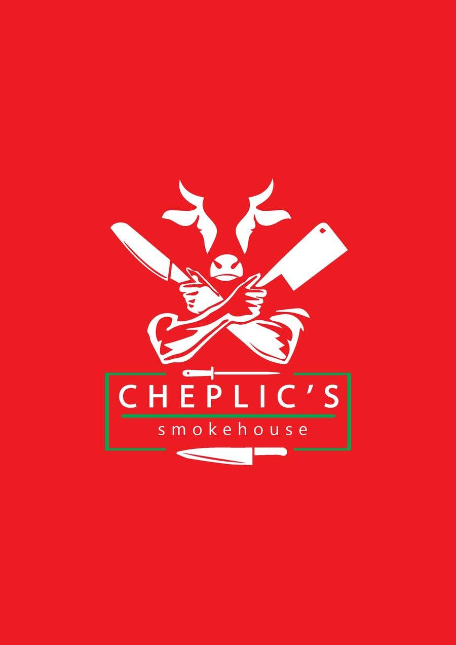 Kilpailutyö #                                        44                                      kilpailussa                                         Create a logo for corporate customer smoked meats, jerky, and beef sticks