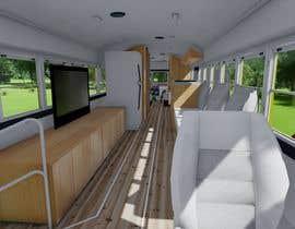 Nro 35 kilpailuun 3D House design in a BUS käyttäjältä wronger