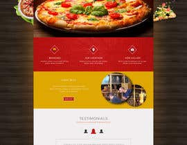 #10 for Design a Website Mockup for a pizzeria restaurant af tania06