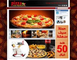 #16 para Design a Website Mockup for a pizzeria restaurant por Wisam75