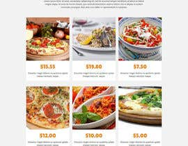 #12 for Design a Website Mockup for a pizzeria restaurant af MilutinAleksic