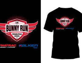 #48 for T-Shirt Design for Bunny Run 14 Off Road Trail Ride by sailasharmin78