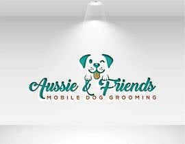 #204 for Aussie & Friends Mobile Dog Grooming LOGO af yamilhanifa2018