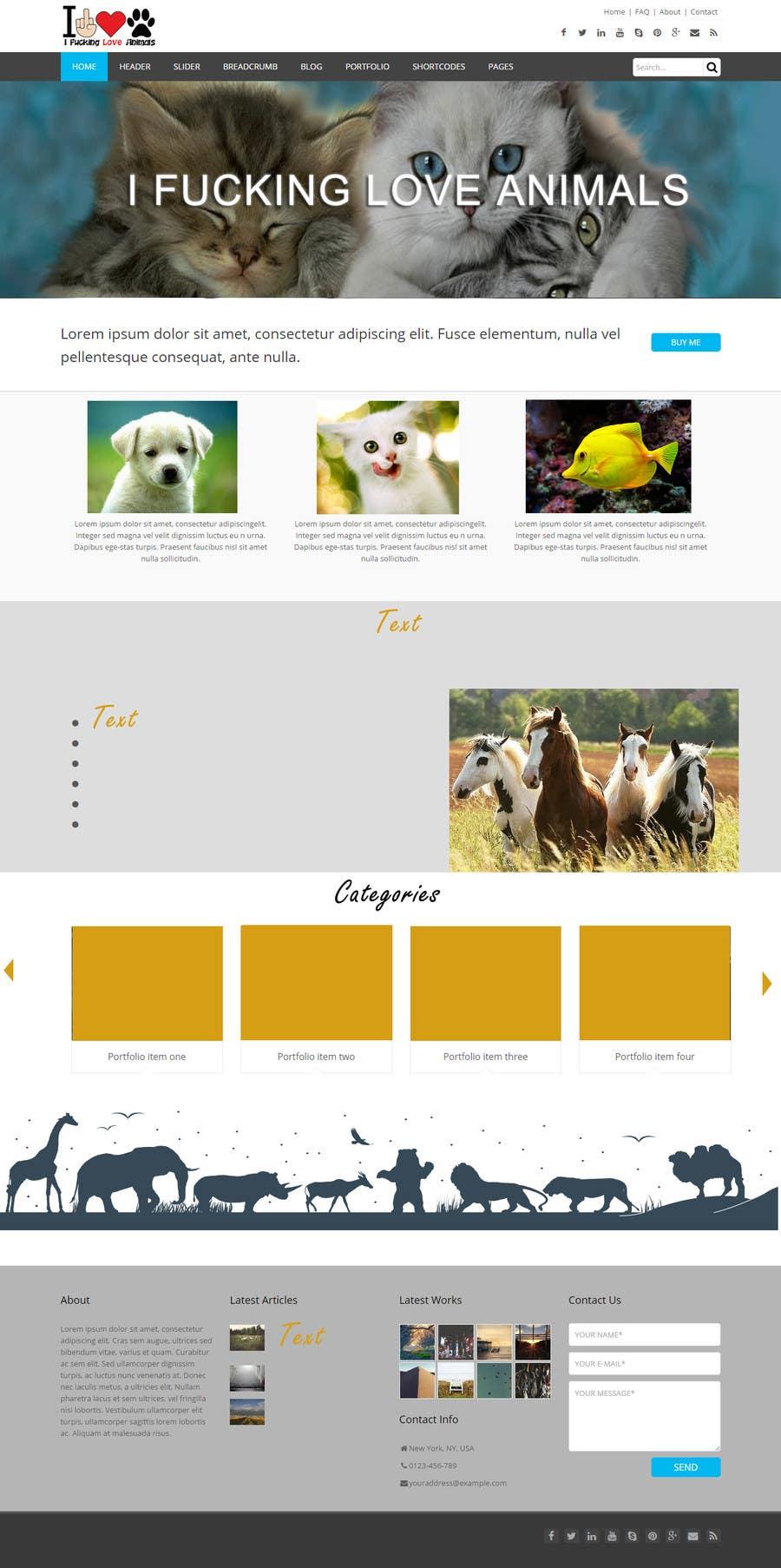 Konkurrenceindlæg #                                        5                                      for                                         Design a layout for my website