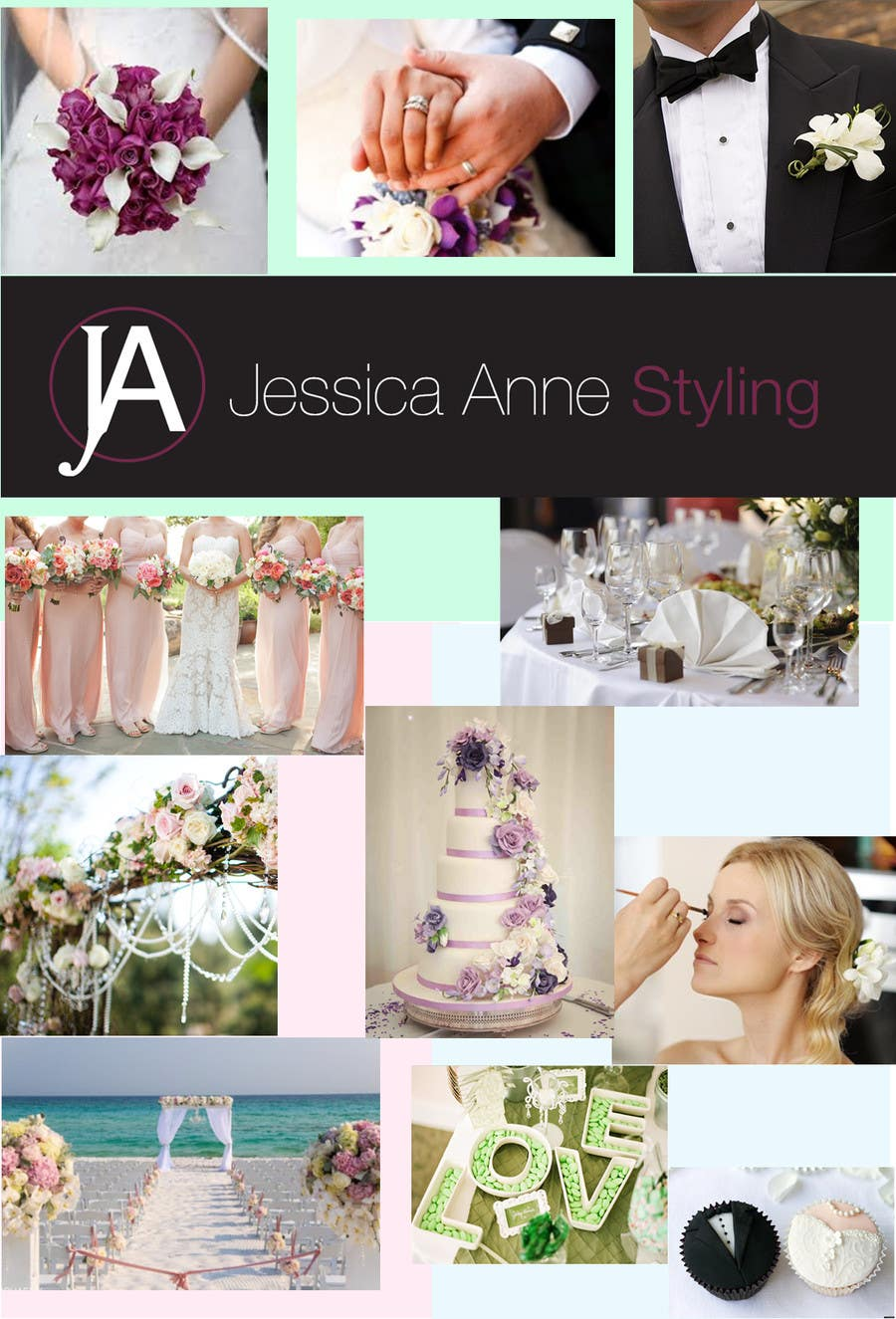 Contest Entry #                                        3                                      for                                         Design an Advertisement for Weddings
