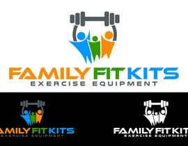 Nro 32 kilpailuun Design a Logo for Family Fit Kits käyttäjältä cbarberiu