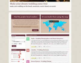 nº 20 pour Website Design for Wedding Guru par bozovic