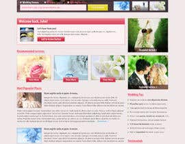 nº 22 pour Website Design for Wedding Guru par HailDuong