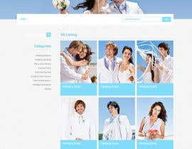 nº 14 pour Website Design for Wedding Guru par danangm