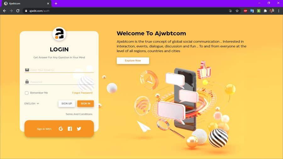 Contest Entry #                                        15                                      for                                         UI Design for web - 27/02/2021 02:12 EST