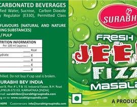#6 para Redesigning of label for beverage por dinesh0805