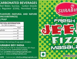 #8 para Redesigning of label for beverage por dinesh0805