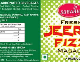 #11 para Redesigning of label for beverage por dinesh0805