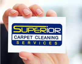 "#38 para Logo Design for ""Superior Carpet Cleaning Services"" por alexandracol"