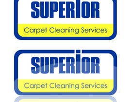 "#31 para Logo Design for ""Superior Carpet Cleaning Services"" por visualbliss"