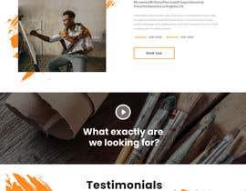 #15 for Urgent - Design one page simple website by dibakarsarkar204
