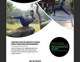 #40 for Design a Pilates and Yoga Studio Flyer af ChiemiDesigns