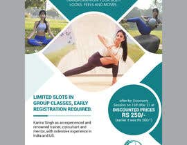 #58 for Design a Pilates and Yoga Studio Flyer by moslehu13