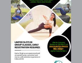 #59 for Design a Pilates and Yoga Studio Flyer by moslehu13
