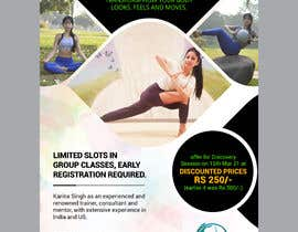 #60 for Design a Pilates and Yoga Studio Flyer by moslehu13
