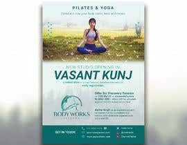 #30 for Design a Pilates and Yoga Studio Flyer by nibirnowshad