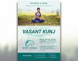 #30 for Design a Pilates and Yoga Studio Flyer af nibirnowshad