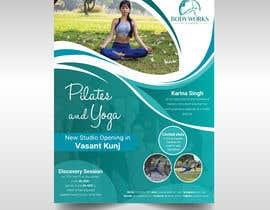 #51 for Design a Pilates and Yoga Studio Flyer af tafhimahmed14