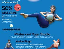 #55 for Design a Pilates and Yoga Studio Flyer af Mehediparves